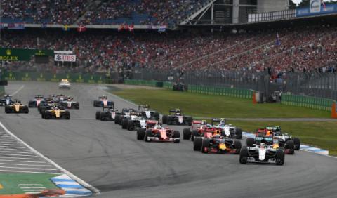 F1. GP Alemania 2016: Hamilton gana en Hockenheim