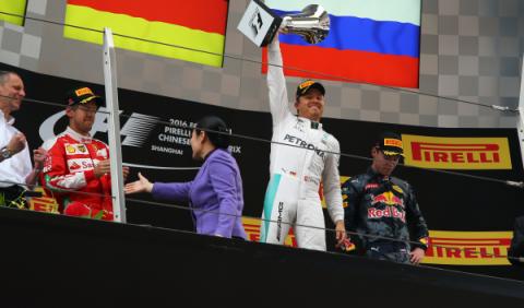 F1. GP China 2016: Nico Rosberg suma y sigue