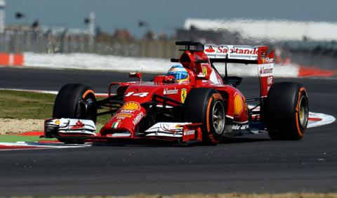 F1: GP Gran Bretaña 2014. La carrera de Fernando Alonso