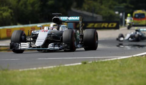 F1. GP Hungría 2016: Hamilton domina con mano de hierro