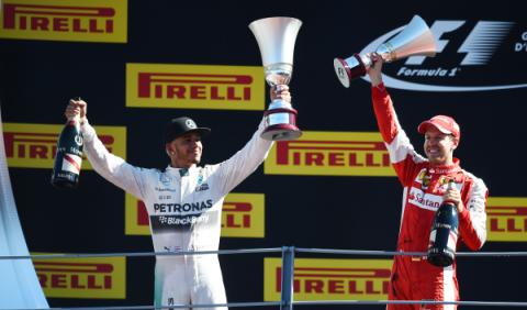 F1. GP Italia 2015: Hamilton domina en Monza