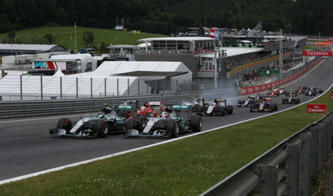 F1. Horarios del GP Austria 2016