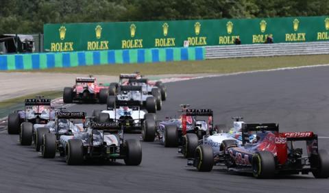 F1. Horarios del GP Hungría 2016