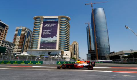 F1. Libres 1 GP Azerbaiyán 2017: Red Bull al mando