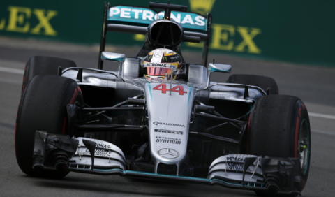 F1. Libres 1 GP Canadá 2016: Mercedes, en su mundo