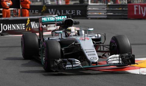 F1. Libres 1 GP Mónaco 2016: Hamilton al frente