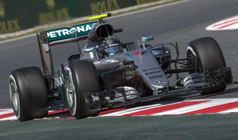 F1. Libres 2 GP España 2016: Rosberg vuelve a la cabeza