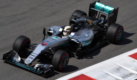 F1. Libres 2 GP Rusia 2016: Hamilton manda