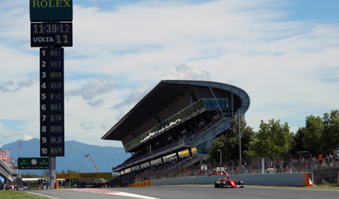 F1. Libres 3 GP España 2017: Ferrari toma las riendas