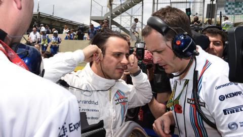 """Felipe Massa: """"Pensé que perdía el podio"""""""