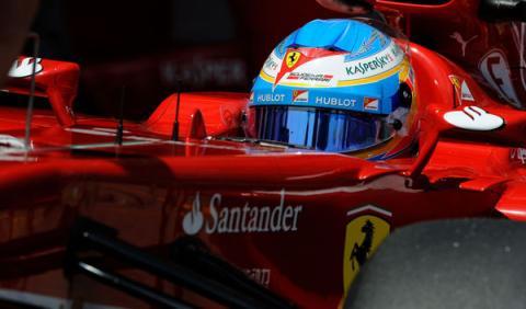 Fernando Alonso adelanta algunos detalles de su nuevo casco