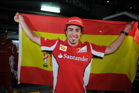 Alonso - Ferrari - GP Malasia 2012