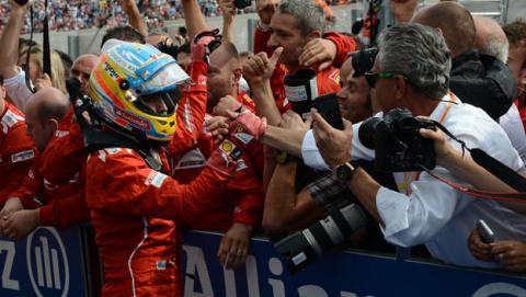 Fernando Alonso deja Ferrari