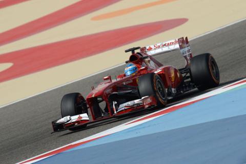 Fernando Alonso - DRS - Ferrari - Bahrein