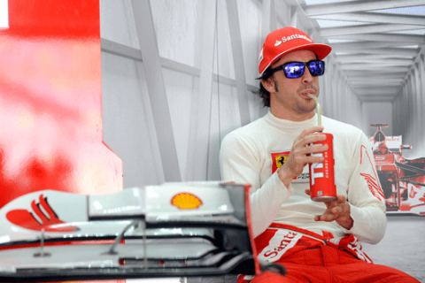 Fernando Alonso - Ferrari  GP Bahréin 2012