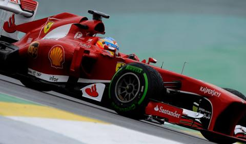 Fernando Alonso - Ferrari - GP Brasil 2013