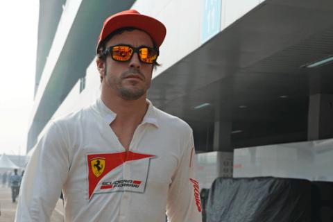 Fernando Alonso - Ferrari - GP India