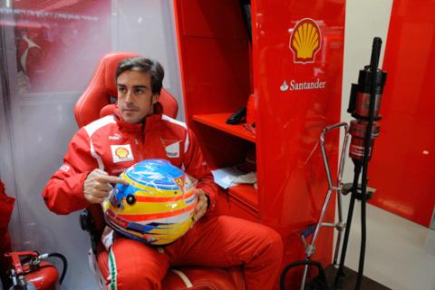 Fernando Alonso - Ferrari - Silverstone - 2012