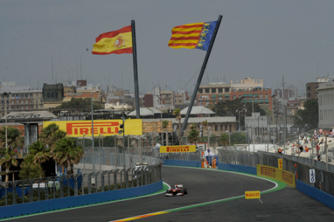 Fernando Alonso - Ferrari - Valencia Street Circuit 2012