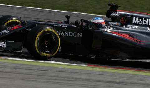 """Fernando Alonso: """"por fin hemos entrado en la Q3"""""""