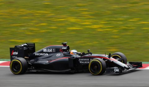 Fernando Alonso, con más problemas de motor en Silverstone