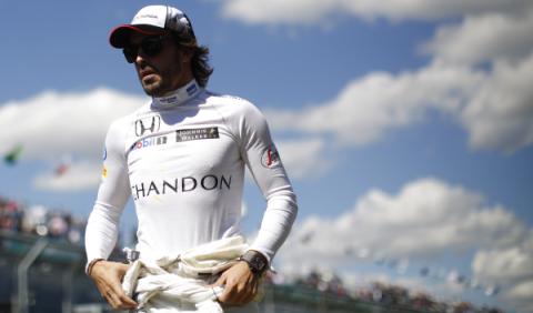 Fernando Alonso no correrá en Bahréin