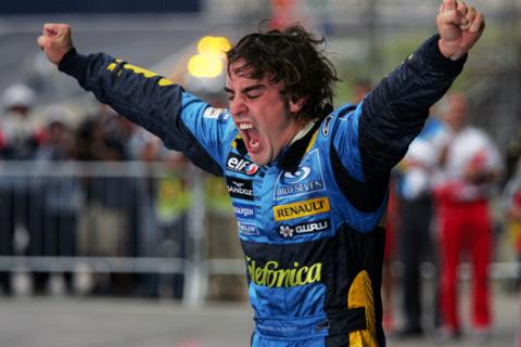 Fernando Alonso - Renault - GP Brasil - 2005