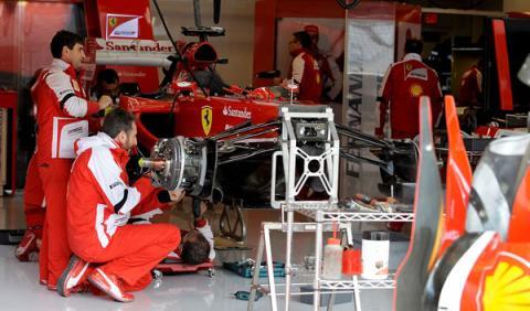 Ferrari busca fecha para presentar el F1 de 2014