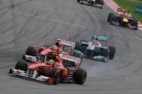 Ferrari - GPMalasia - 2011