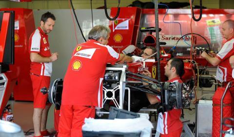Ferrari - motor 2014