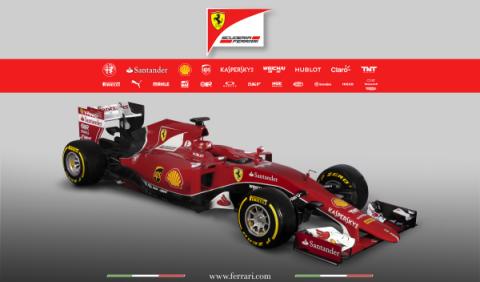 Ferrari presenta el SF15-T de Vettel y Räikkönen