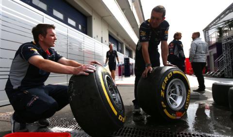 Ferrari y Red Bull tendrán pruebas de neumáticos en julio