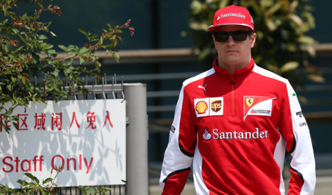 Ferrari renueva a Kimi Räikkönen para 2016