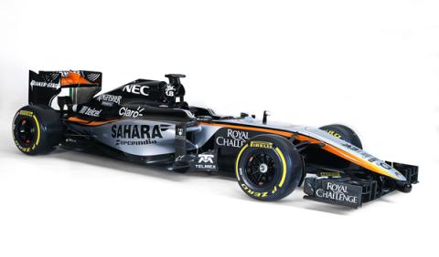 Force India desvela el nuevo f1 VJM08 para 2015