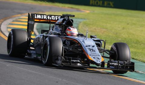 Force India introducirá una versión B de su f1 en Mónaco