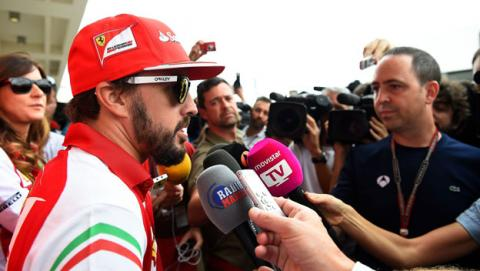 Fórmula 1: La carrera de Fernando Alonso en el GP EEUU 2014