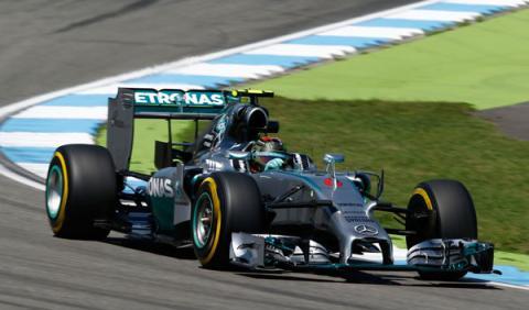 Fórmula 1: Clasificación GP Alemania 2014. Pole de Rosberg