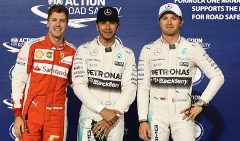 Fórmula 1. Clasificación GP Bahréin: Hamilton no da opción