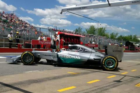 Formula 1: Clasificación GP Canadá 2014. Pole de Rosberg
