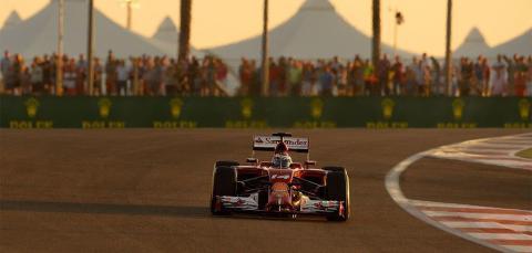 Fórmula 1: GP Abu Dabi 2014. La carrera de Fernando Alonso