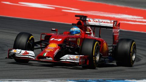 Fórmula 1: GP Alemania 2014. La carrera de Fernando Alonso