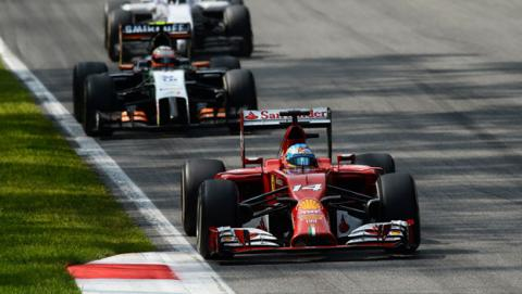 Fórmula 1: GP Italia 2014. La carrera de Fernando Alonso
