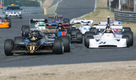 Fórmula 1 Histórica en el Circuito del Jarama