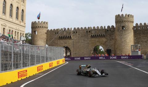 Fórmula 1. Horarios del GP Azerbaiyán F1 2017