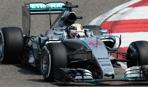 Fórmula 1. Libres 1 GP China 2015: Hamilton manda