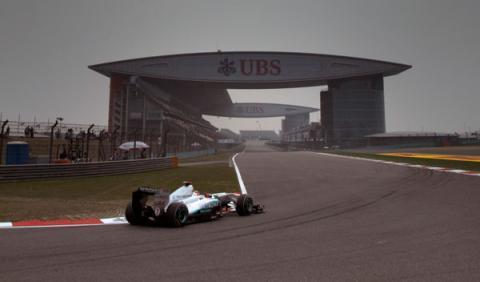 Fórmula 1: Parrilla de salida GP China 2014