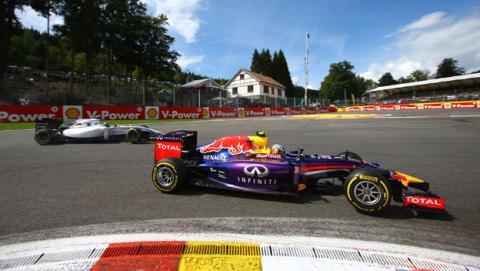 Fórmula 1: Resumen GP Bélgica 2014. Tercera de Ricciardo