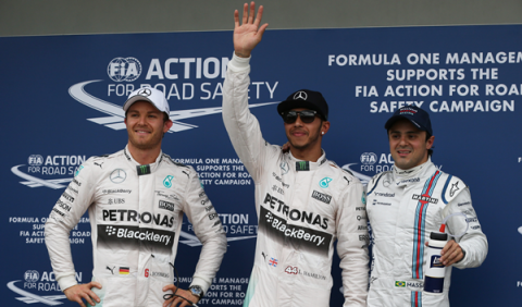 Fórmula 1.Clasificación GP Australia 2015: pole de Hamilton