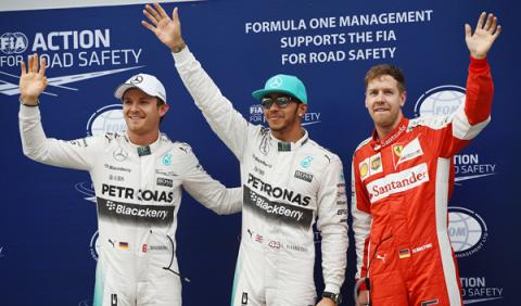 Fórmula 1.Clasificación GP Malasia 2015: Hamilton al frente