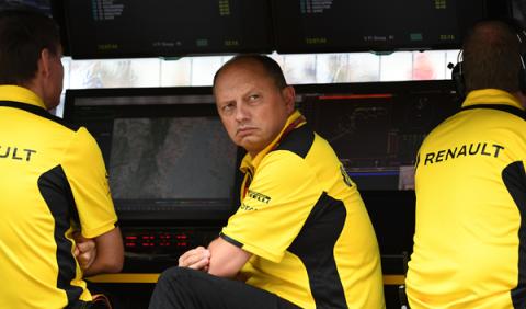 Frédéric Vasseur deja la dirección del equipo Renault F1